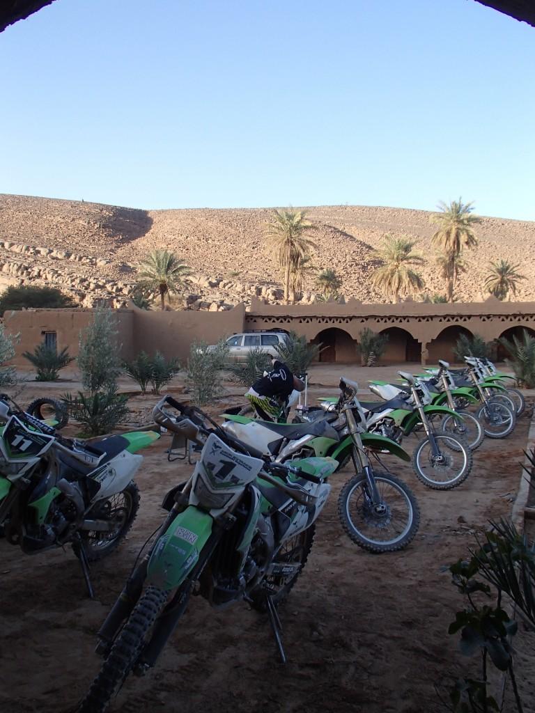 bikes at Oasis Mhaech