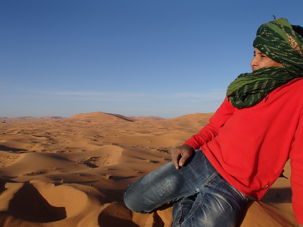 Mohammed in the Dunes