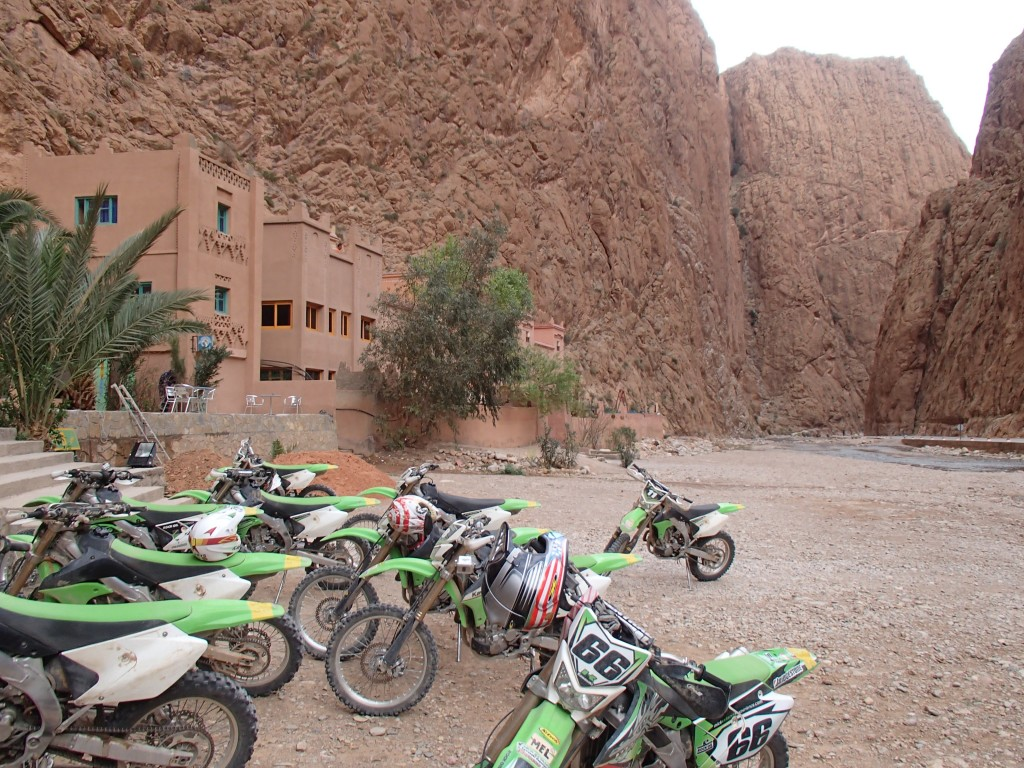 Todra gorge coffee stop