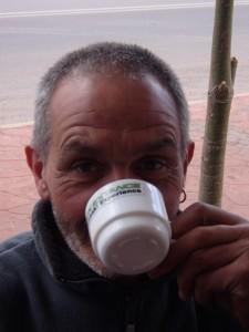 Mick Extance Kawasaki Experience cafe au lait...