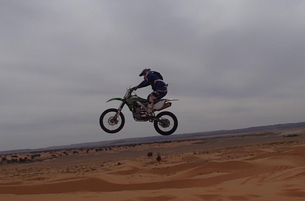 Chrissie boy jump!